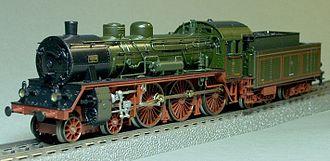 Prussian S 10 - Image: Märklin 2881 KPEV S10 1008