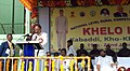 M. Venkaiah Naidu addressing at the 'KHELO INDIA', a national level rural competition, at SPSR, in Nellore, Andhra Pradesh.jpg