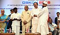 M. Venkaiah Naidu felicitating a person who have survived acid attack and got his vision restored, at the OSKON 2018 (Ocular Surface and Keratoprosthesis Conference), organised by Sankara Netralaya, in Chennai.JPG