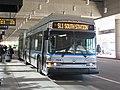 MBTA route SL1 bus at Terminal E, October 2016.jpg