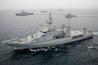 HMNZS Otago (P148) - Image: MC 10 0422 015 Flickr NZ Defence Force