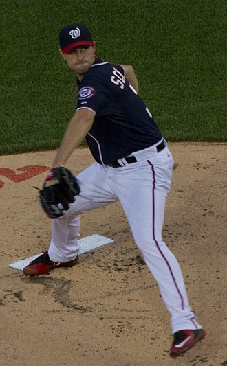 Max Scherzer - Scherzer pitching in 2015