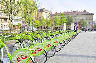 Nextbike - Image: MOL Bubi station