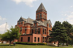 MONONA COUNTY COURTHOUSE, ONAWA, IOWA