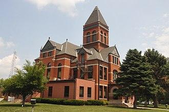Monona County, Iowa - Image: MONONA COUNTY COURTHOUSE, ONAWA, IOWA
