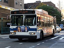 List Of Bus Routes In Manhattan Wikipedia