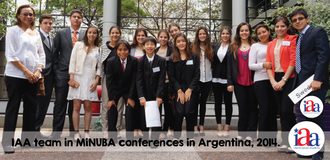 Inter-American Academy of Guayaquil - IAA students in MUN