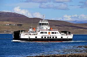 MV Hallaig Approaching Sconser, 9 May 2015.jpg