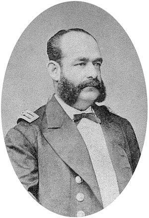 Battle of Iquique - Commander Miguel Grau Seminario.