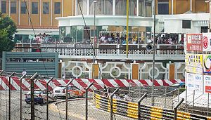 Macau Grand Prix - The entry into the Lisboa corner, Guia Circuit