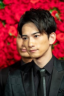 Keita Machida Japanese actor