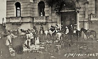 Torreón massacre racially motivated massacre in 1911 in Torreón, Coahuila, Mexico