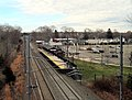 Madison station from Durham Road bridge (2), December 2015.JPG
