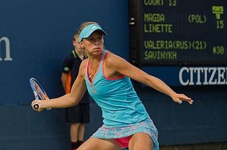 Magda Linette - Magda Linette 2011 US Open 01