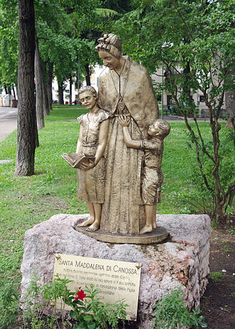 Magdalene of Canossa - Monument in Verona.