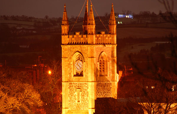 Magheralin Parish Church, The Church of the Holy and Undivided Trinity. Photo: George Malcolm