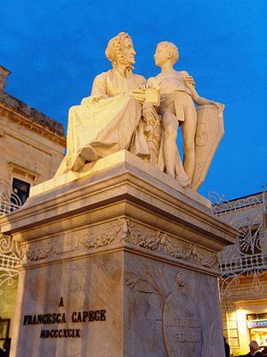 Maglie - Image: Maglie monumento F.Capece