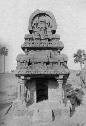 Seven Pagodas of Mahabalipuram - Image: Mahabali 005