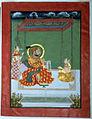 Maharana Pratap Singh II with his Rani.jpg