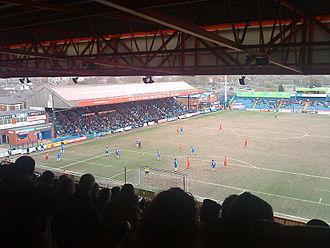 Edgeley Park - Main Stand
