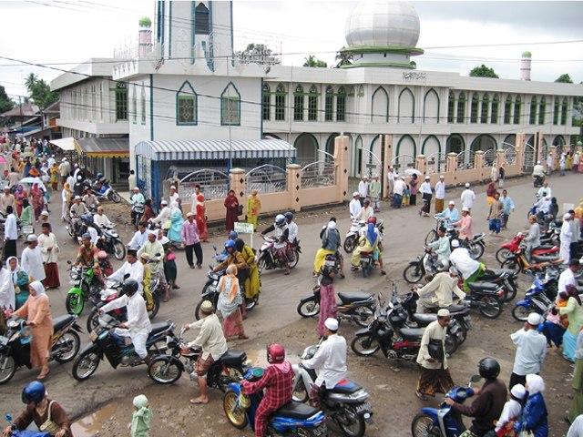 Majelis Taklim Guru Kapuh di Masjid Baiturrahmah Rantau - panoramio
