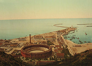 Plaza de toros de La Malagueta - La Malagueta in 1900