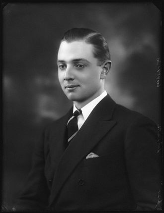 Malcolm Leslie, 20th Earl of Rothes - Malcolm in 1924.