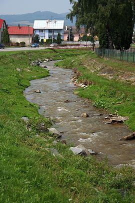 Ondava poloha pri obci parchovany dĺžka 129 8 km dĺžka toku na