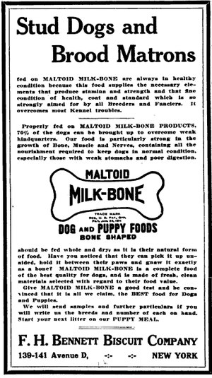 Dog biscuit - Image: Maltoid milk bone