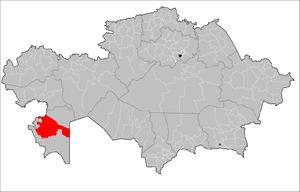 Mangystau District - Image: Mangystau District Kazakhstan