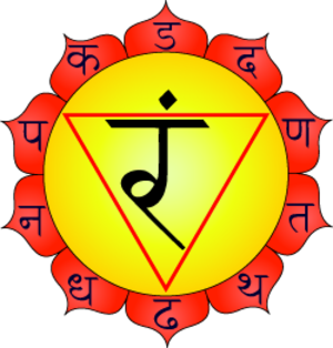 Glossary of Hinduism terms - Manipura chakra