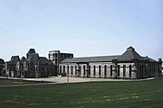 Ohio State Reformatory, also known as the Mansfield Reformatory, served as the fictional Shawshank State Penitentiary.
