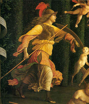アンドレア・マンテーニャによるミネルウァ(1499-1502)