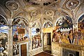 Mantegna - Ducal Palace, View of the west and north walls, 0sposi2.jpg