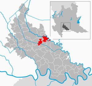 Cavenago d'Adda - Image: Map IT Lodi Cavenago d'Adda