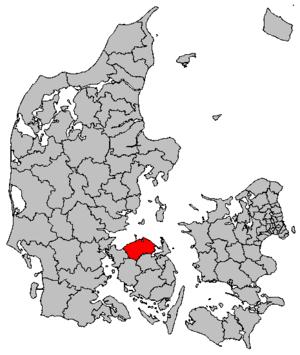 Nordfyn Municipality - Image: Map DK Nordfyn