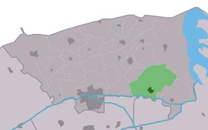 Ee, Dongeradeel - Image: Map NL Dongeradiel Ie