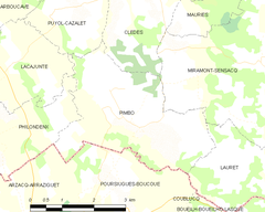 Map commune FR insee code 40226.png