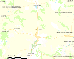 Map commune FR insee code 47048.png