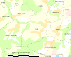 Map commune FR insee code 60676.png