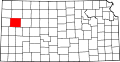 Map of Kansas highlighting Logan County.svg