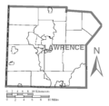 Map of Lawrence County, Pennsylvania No Text.png
