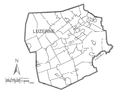 Map of Luzerne County, Pennsylvania No Text.png
