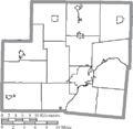 Map of Shelby County, Ohio No Text.png