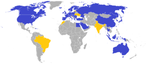 Map Of Ikea Stores Around The World Legend