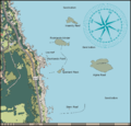 Map of the CT dive sites at Rocklands Point.png