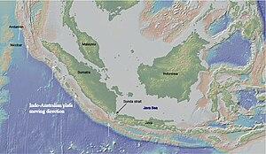 Sumatra Trench - Image: Map of the Sumatra Trench