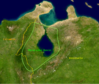 Barco oil concession - Maracaibo Basin. The Barco concession lies in the southwest portion within Colombia.