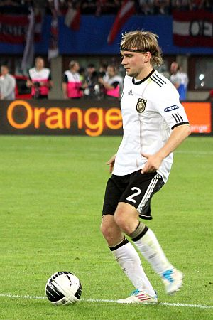 Marcel Schmelzer - Schmelzer playing for Germany
