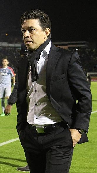 Marcelo Gallardo - Gallardo in 2016